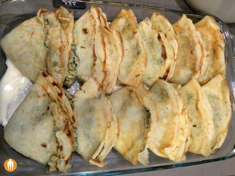 Misanplas crepes de espinacas for Espinacas como cocinarlas
